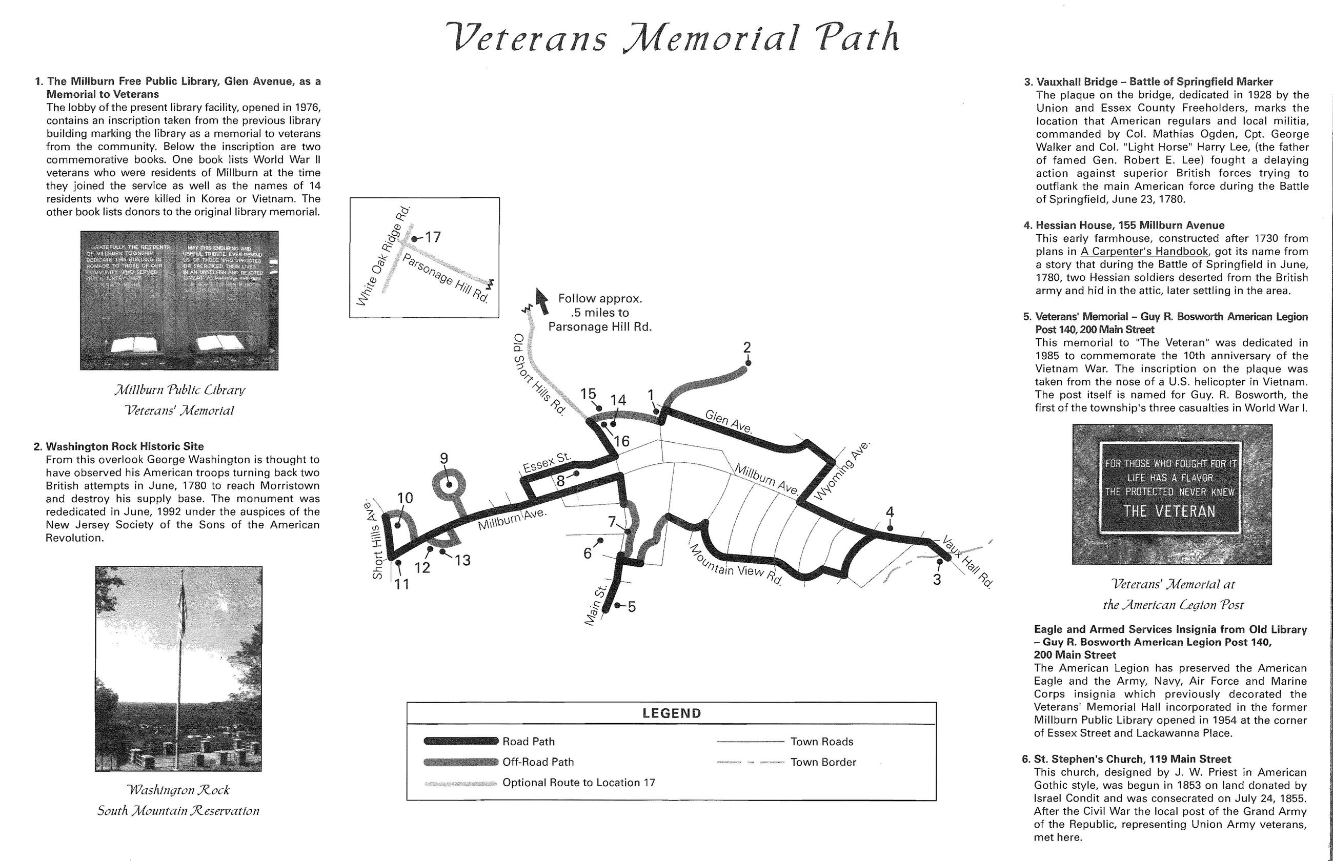 Veterans Memorial Path Page 1