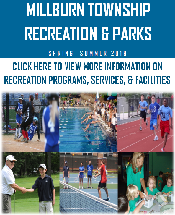 Spring and Summer 2019 Recreation and Parks Brochure Cover