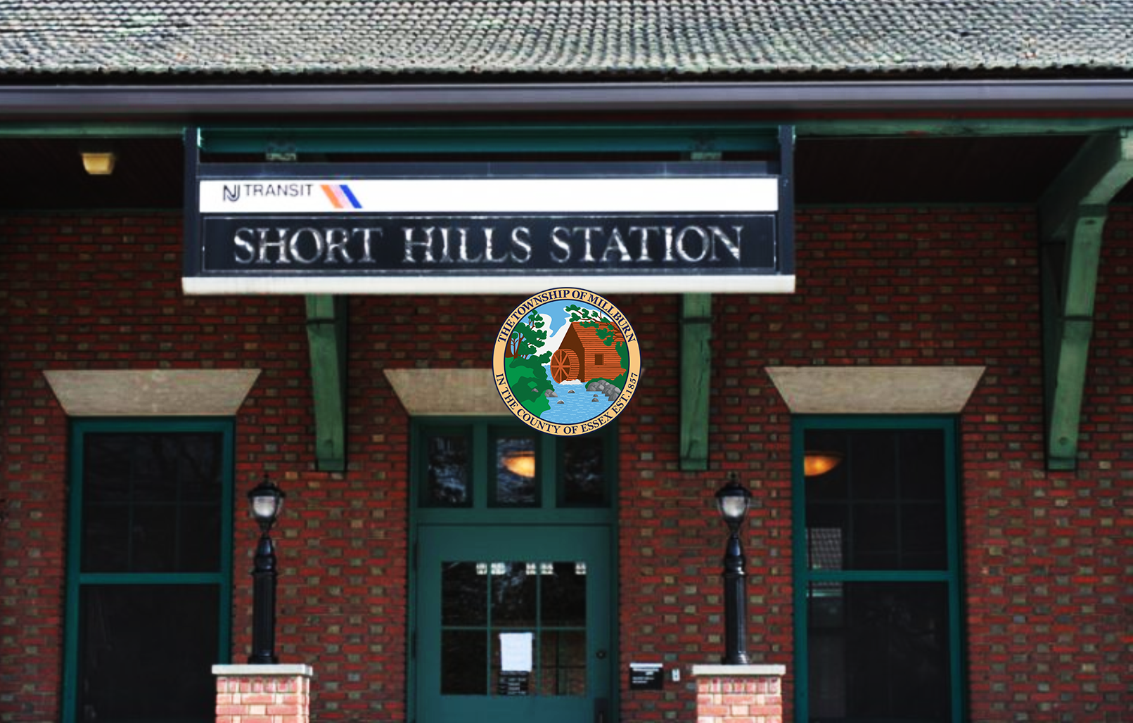 Image of Short Hills Train Station Sign