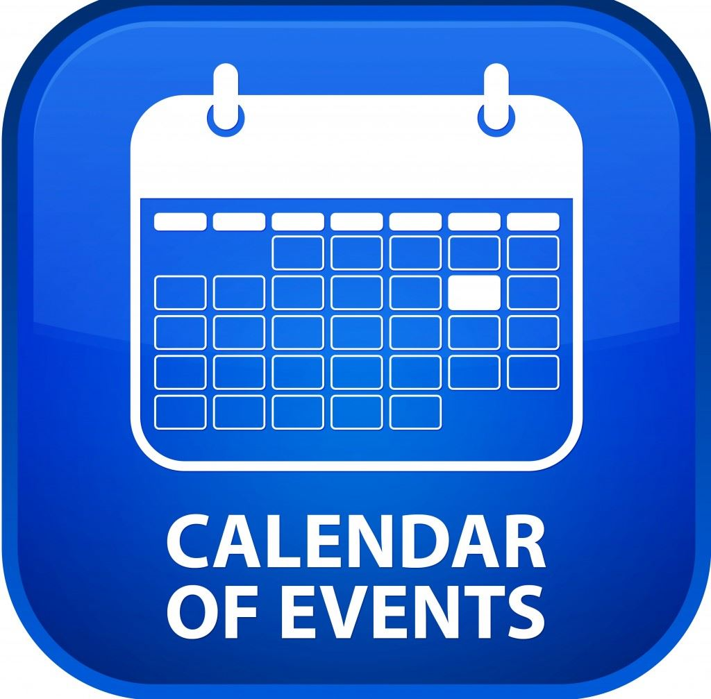 Calendar of Events Opens in new window