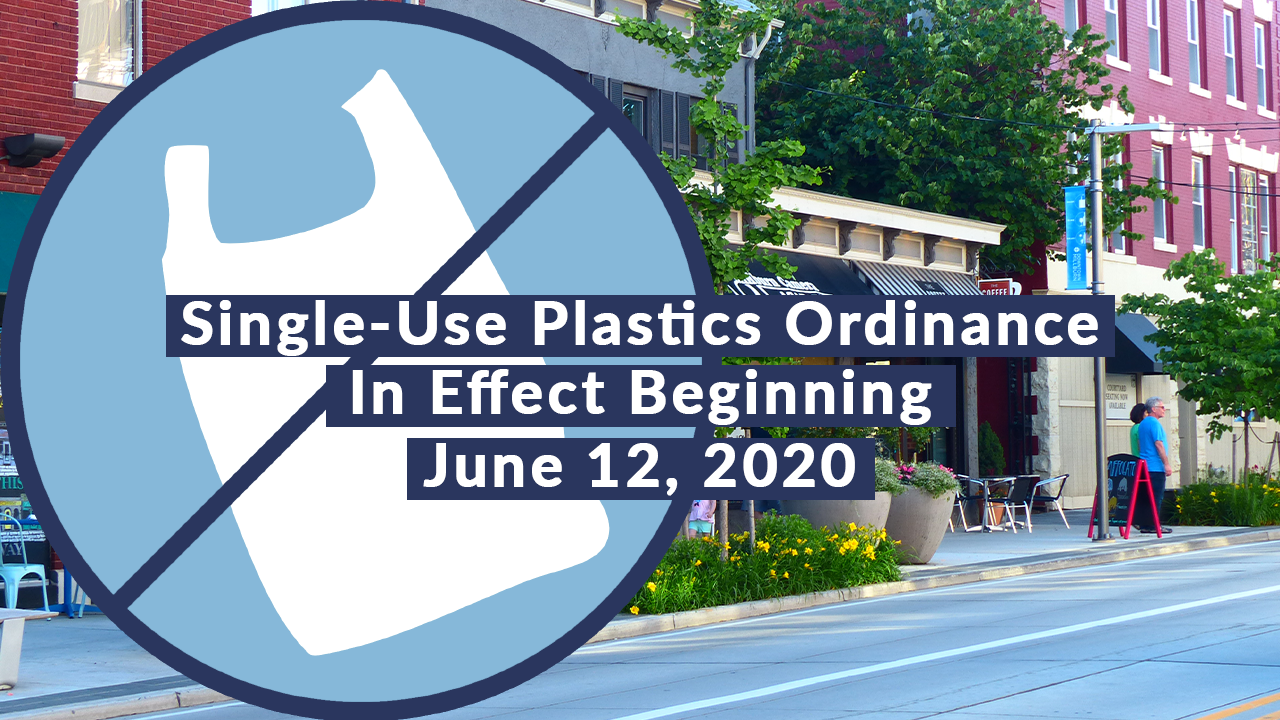 Single Use Plastics Ordinance